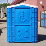 Туалетная кабина для инвалидов 001