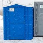 Туалетная кабина для инвалидов 003