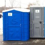 Туалетная кабина для инвалидов 004