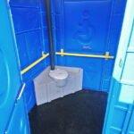 Туалетная кабина для инвалидов 008