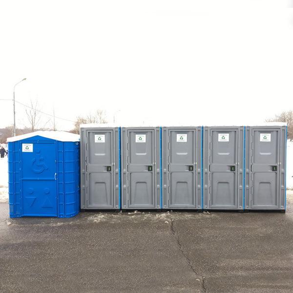 Туалетная кабина для инвалидов 015