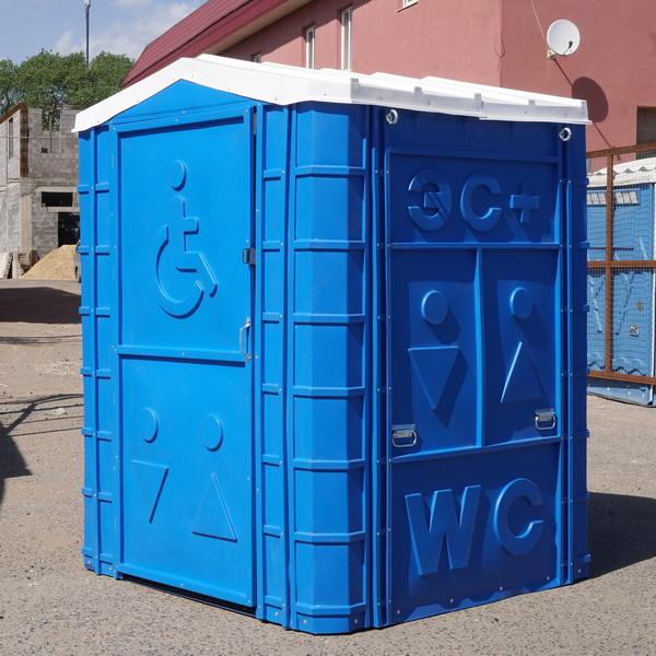 Туалетная кабина для инвалидов 018