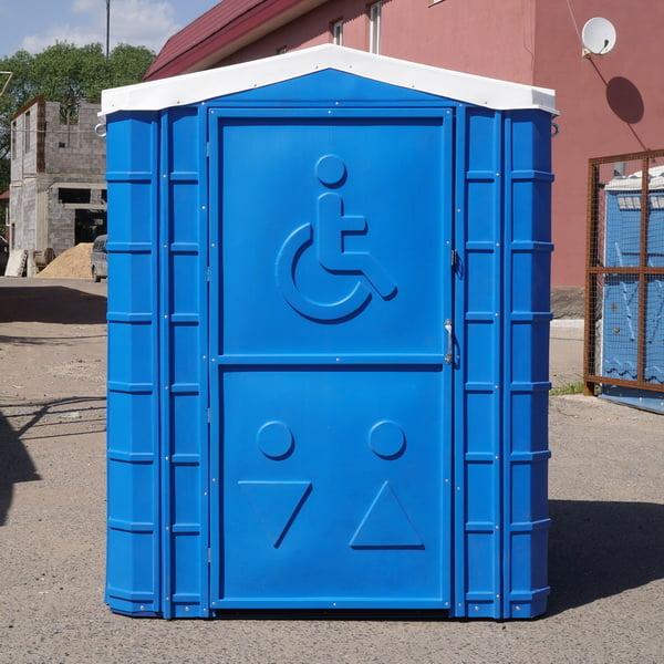 Туалетная кабина для инвалидов 027