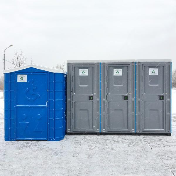 Туалетная кабина для инвалидов 030
