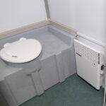 Туалетная кабина модуль Авангард 006