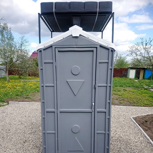 Туалетно-душевая кабина - туалет и душ 010