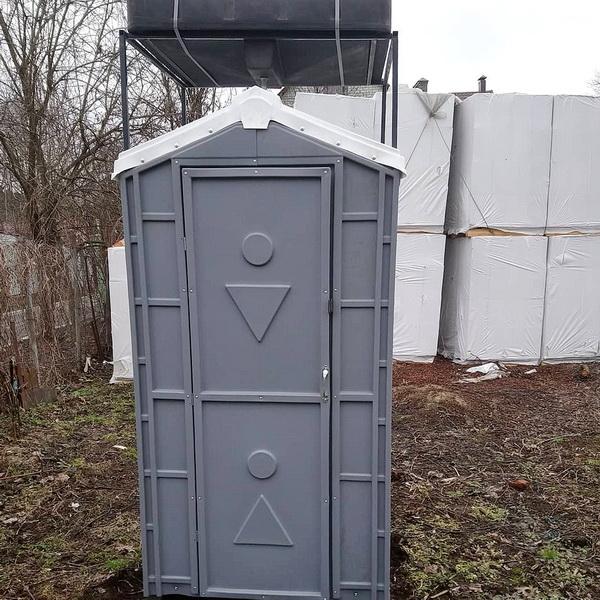 Туалетно-душевая кабина - туалет и душ 011