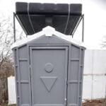 Туалетно-душевая кабина - туалет и душ 012