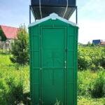 Туалетно-душевая кабина - туалет и душ 015