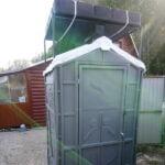 Туалетно-душевая кабина - туалет и душ 021