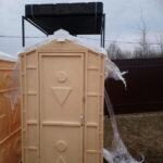 Туалетно-душевая кабина - туалет и душ 025
