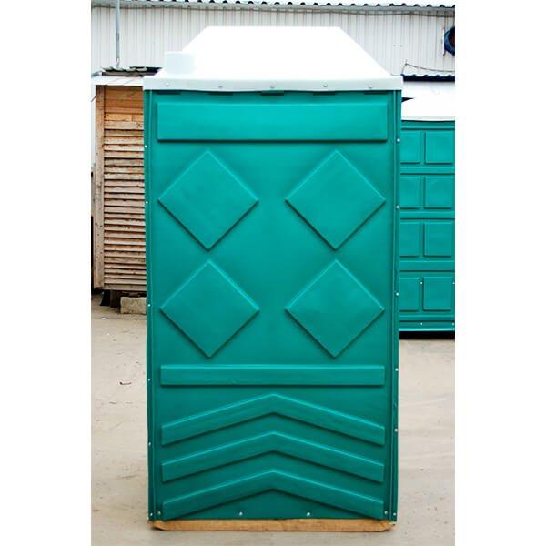 Готовый туалет для дачи Эконом зеленая 6