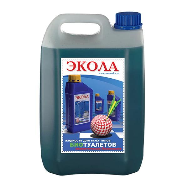 Жидкость для туалета Экола 003