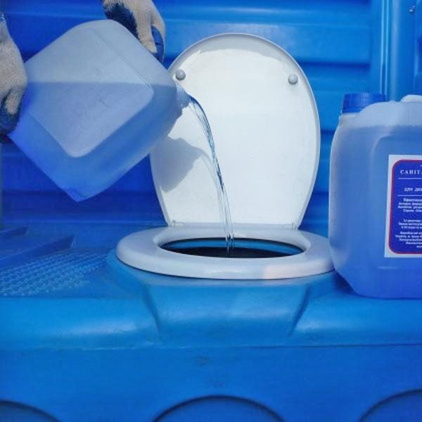Жидкость для туалета Экола 004