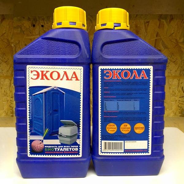 Жидкость для туалета Экола 012