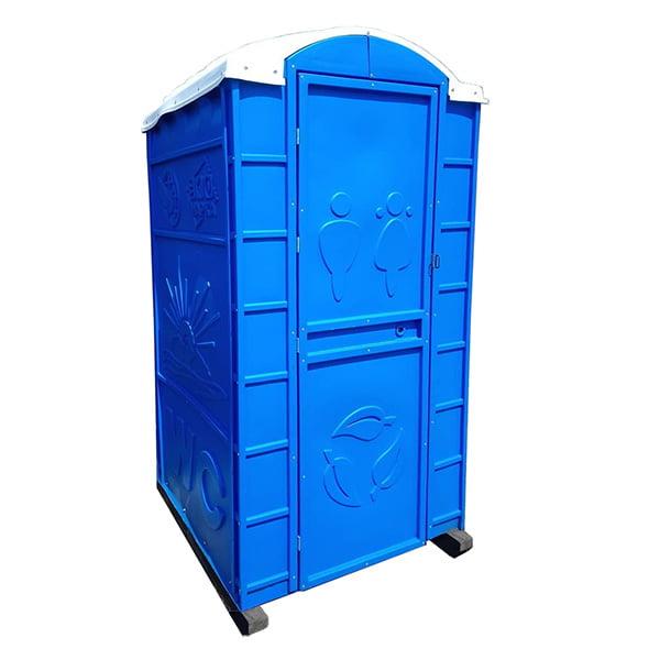 Туалетная кабина круглая крыша 000
