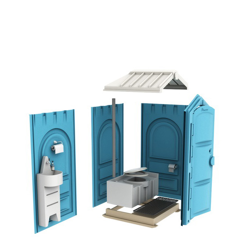 Бесплатная сборка туалетных кабин
