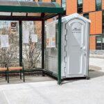 Туалетная кабина - биотуалет 0030