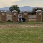 Туалетная кабина - биотуалет 0070 Копирование