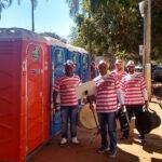 Туалетная кабина - биотуалет 0082