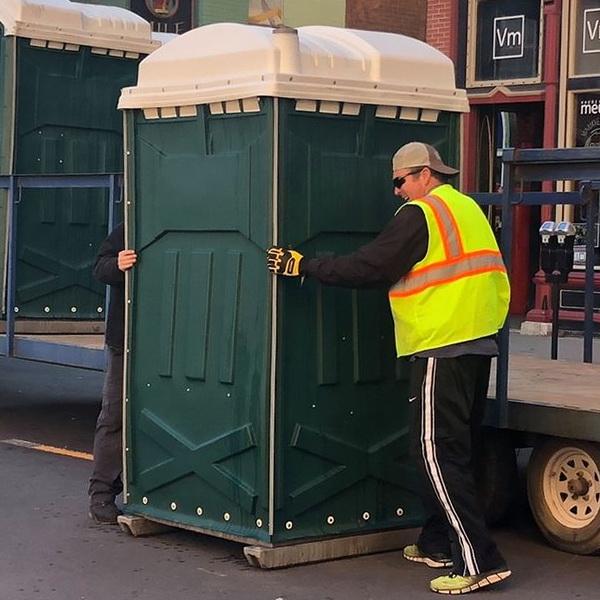 Туалетная кабина - биотуалет 0125