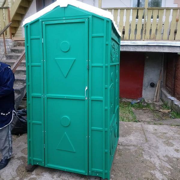 Туалетная кабина для дачи 0001