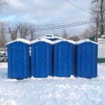 Зимняя туалетная кабина 001