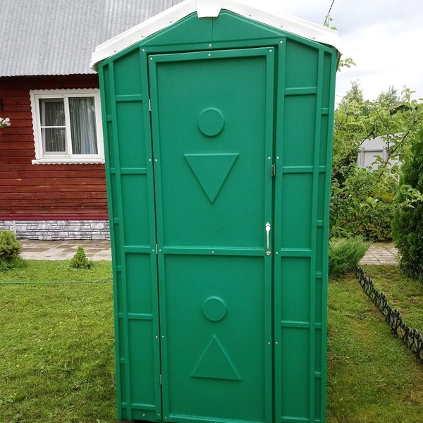 Туалет для дачи 003