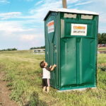Туалетная кабина - биотуалет 0179