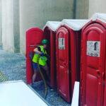 Туалетная кабина - биотуалет 0184