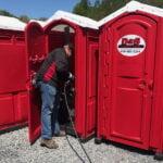 Туалетная кабина - биотуалет 0188