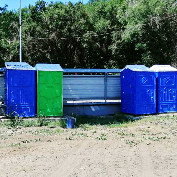 Туалетная кабина - биотуалет 0204