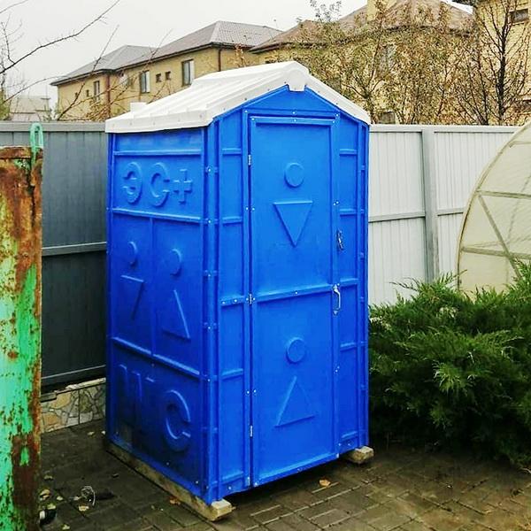 Туалетная кабина - биотуалет 0209