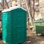 Туалетная кабина - биотуалет 0214