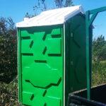 Туалетная кабина - биотуалет 0225