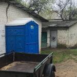 Туалетная кабина - биотуалет 0240