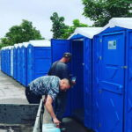 Туалетная кабина - биотуалет 0250