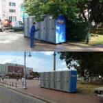 Туалетная кабина - биотуалет 0275