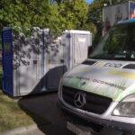 Туалетная кабина - биотуалет 0291