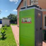 Туалетная кабина - биотуалет 0296