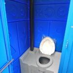 Туалетная кабина с баком 0001