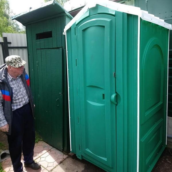 Туалетная кабина Стандарт 001
