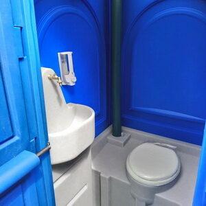 Туалетная кабина Люкс (МТК) 012