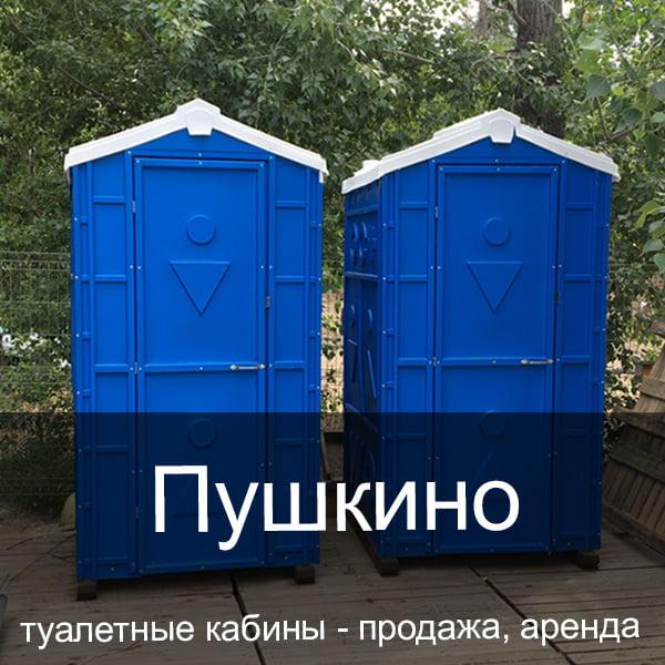 45 Пушкино Туалетные кабины аренда продажа