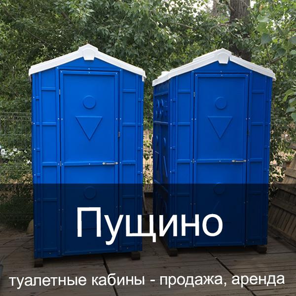 46 Пущино Туалетные кабины аренда продажа