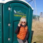 Туалетная кабина - биотуалет 0000