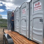 Туалетная кабина - биотуалет 0063
