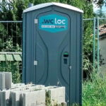 Туалетная кабина - биотуалет 0713