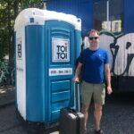 Туалетная кабина - биотуалет 0716