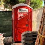Туалетная кабина - биотуалет 0727